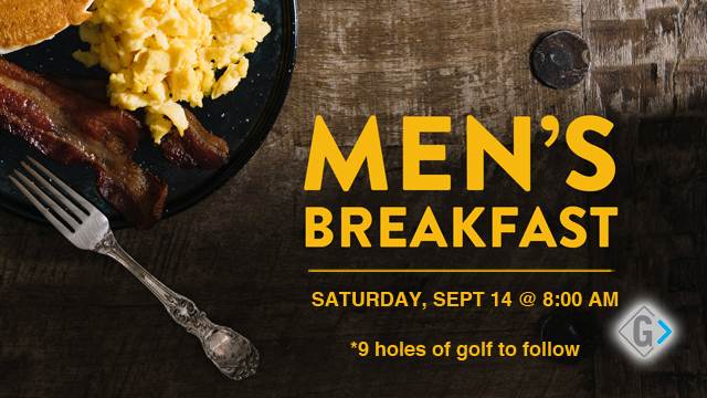Mens Breakfast - Sept 14